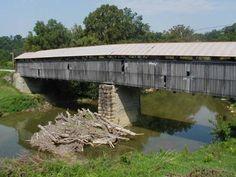 Beech Fork Covered Bridge, Washington County, Kentucky.