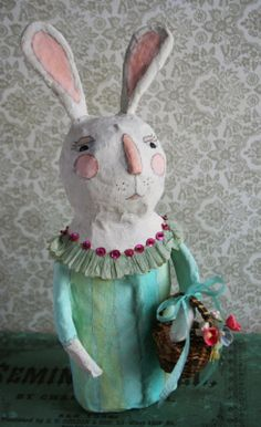 paper mache sunday  by julie collings