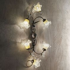 Rosalind Wheeler Great lighting fixture, perfect for your home. Color Rendering Index, Light Project, Ceiling Lamp, Candle Sconces, Light Fixtures, Wall Lights, Shapes, Interior Design, Lighting