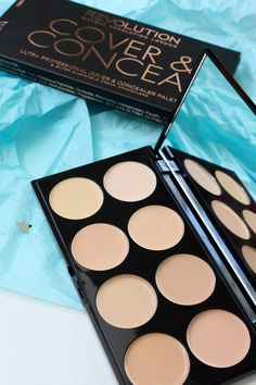 Makeup Revolution - Cover & Conceal palette - actually one of my favourite products for contouring!