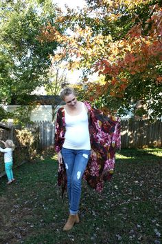 LIFE IN MOD: DIY: Kimono - made from 2 scarves