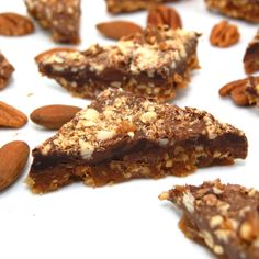 Sweet Pea's Kitchen » Pecan and Almond Chocolate Toffee
