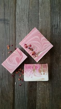 Pink Romance Soap by Scent and Sensibility Fine Artisan Bath and Body