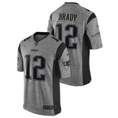 tom brady new england patriots nike nfl gridiron football jersey 12 mens medium