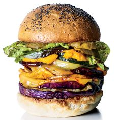 Get star chef Edward Lee's recipe for Roasted Veggie Burgers with Carrot Ketchup from Food & Wine.