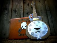 Electric resonator Gutiar, Blues Guitar, Slide Guitar. $825.00, via Etsy.