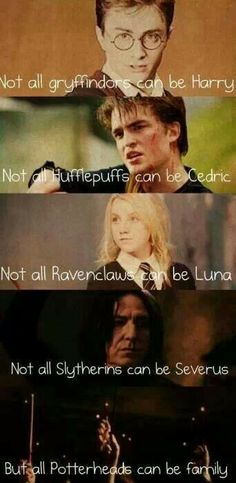 Potterheads can be family
