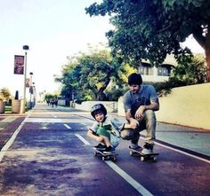 Chris Cole. Awesome skater and daddy lol <3