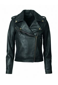 Dash Leather Jacket in Black by Won Hundred