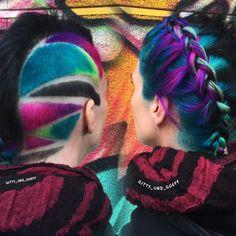 Gitty und Göff cosmic hair