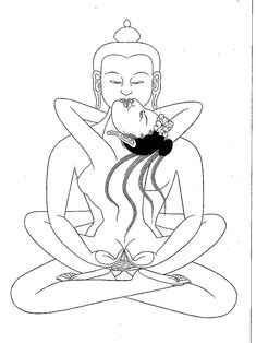 Samantabhadra Yab Yum greeting card [Artwork N/I] - $1.50 : Zen ...