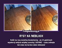 USUŃ RYSY NA DREWNIANYCH MEBLACH na Stylowi.pl Natural Cleaning Products, Home Hacks, Beauty Care, Clean House, Good To Know, Cleaning Hacks, Health And Beauty, Fun Facts, Diy And Crafts