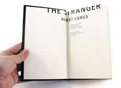 The stranger / Alber