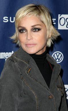Love this look, Sharon Stone