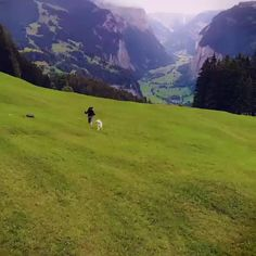 The famous village of Lauterbrunnen, surrounded by nature 🍃 Switzerland. Tag to get featured 🌎 💙Video by 📸 check tag——> Beautiful Photos Of Nature, Beautiful Places To Travel, Nature Pictures, Wonderful Places, Cool Places To Visit, Amazing Nature, Switzerland Vacation, Alps Switzerland, Switzerland Destinations