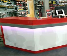 The Display Centre Created Trade Counters For A National Hardware Brand.
