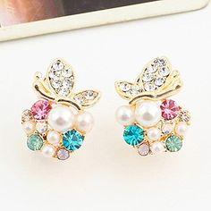 Butterfly rhinestone earrings Canada Day Special until July 5th!  https://www.ibrightenshop.com/store/p20/Butterfly_rhinestone_earrings.html
