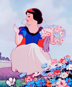 Snow White, a princess who was capable of finding positivity and happiness in any situation, which is a great thing for anyone do try and do.