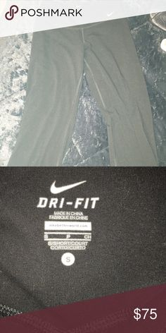Black Nike Yoga Pants Never worn Dri Fit Yoga Pants. Size small. Like new. Bought for 75 but will take best offer Nike Pants Track Pants & Joggers