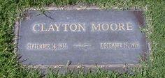 Clayton Moore ( Lone Ranger)