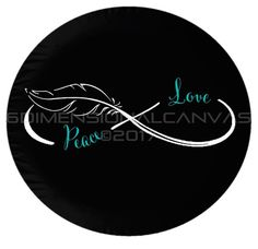 Infinity Feather Tire Cover by on Etsy Custom Jeep Tire Covers, Bling Car Accessories, Trucks And Girls, Jeep Truck, Wheel Cover, Rav4, Jeep Wrangler, Infinity, How To Find Out