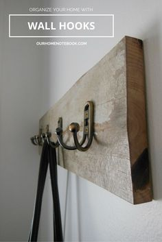 Organize Your Home [Front Entry Hooks]