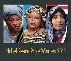 women nobel peace prize - Google Search