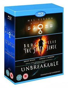 Las gangas de un berubyano: Trilogía en Blu-Ray del Director M. Night Shyamalan por solo 11,04 euros!!!