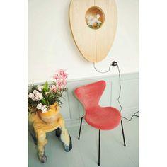 Fritz Hansen Vlinderstoel Series 7 stoel velvet | FLINDERS verzendt gratis Fritz Hansen, Egg Chair, Lounge, Velvet, Furniture, Home Decor, Airport Lounge, Drawing Rooms, Decoration Home