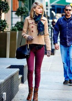 Taylor in NYC today 3/27/14
