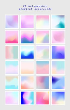 Holographic Gradients by funderful on Photoshop Logo, Photoshop Texture, Holographic Background, Illustrator Cs, Wave Design, Texture Vector, Color Of Life, Colour Schemes, Design Reference