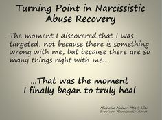 Milestones in Recovering from Narcissistic Abuse: Realizing I was targeted for my strengths, not my weaknesses. This was huge for me!