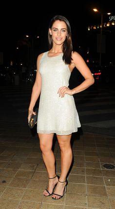 Jessica Lowndes in Mini Dress Jessica Lowndes, Dress Out, Dress Skirt, Lovely Dresses, Formal Dresses, Nice Legs, Beautiful Legs, Beautiful Women, Red Carpet Dresses