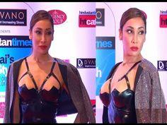 OMG ! Sofia Hayat's SHOCKING wardrobe disaster at Mumbai's Most Stylish Awards 2015.