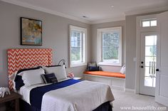 Isabella & Max Rooms: Street of Dreams Portland Style - House 6 Beautiful Homes, House Beautiful, Closet Bedroom, Kid Spaces, Boy Room, Modern Farmhouse, Diy Furniture, Boy Bedrooms, Zig Zag