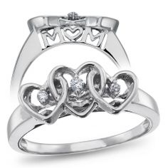 Sterling Silver, Diamond Accent Ring $29.99
