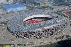Bird's Nest Stadium -Aerial Picture