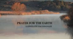 """Prayer for the Earth - Llewellyn Vaughan-Lee by Working with Oneness. """"In our prayers and devotions, we need to reconnect with the sacred substance in creation. We need to place the earth within our hearts, and nourish it with our love, and offer it in remembrance of God."""""""