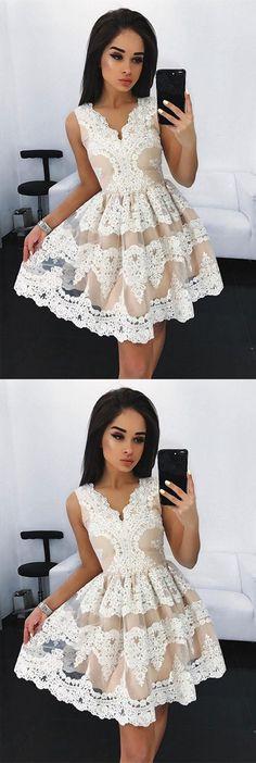 lace homecoming dress,homecoming dresses,short homecoming dress