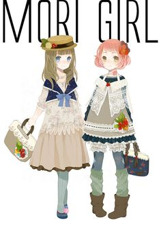 Adorable! But what ze heck is mori?