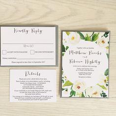 9 Beautiful + Affordable Greenery Invitations   greenery wedding invitations
