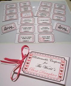 valentine coupon template word