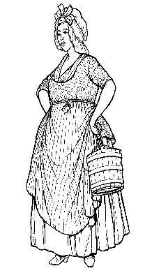 Most servants employed during the Victorian era were female 'maids of all work' (maid of all work)