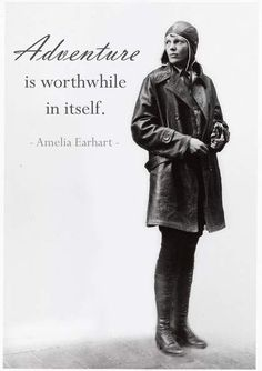 Thank you Amelia Earhart! Important Quotes Made By Women In History Quotes To Live By, Life Quotes, Lyric Quotes, Movie Quotes, Quotes Quotes, Famous Quotes, Wisdom Quotes, Aviation Quotes, Aviation Humor