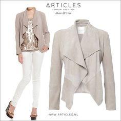 Suède jacket www.articles.nl