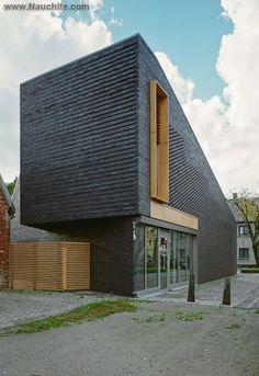 Оригинальные фасады домов, фото #modernarchitecturebrick