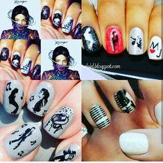 Michael jackson nail art images nail art and nail design ideas michael jackson nails i love this artist so much nails michael jackson nails i love this prinsesfo Gallery