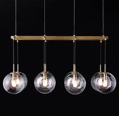 Languedoc Linear Chandelier 60""