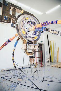 Thread Wrapping Architecture x Anton Alvarez - Freshland Anton, Best Insurance, Ex Machina, Royal College Of Art, Sculpture Clay, Sculptures, Building A Website, London Art, Artists