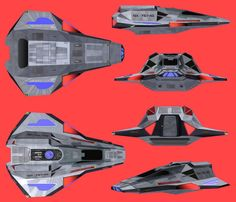 Star Trek Archangel class shuttle